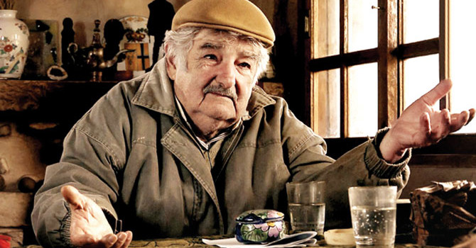 Saraysız Başkan Jose Mujica'yı Audi'ye Bindirdik
